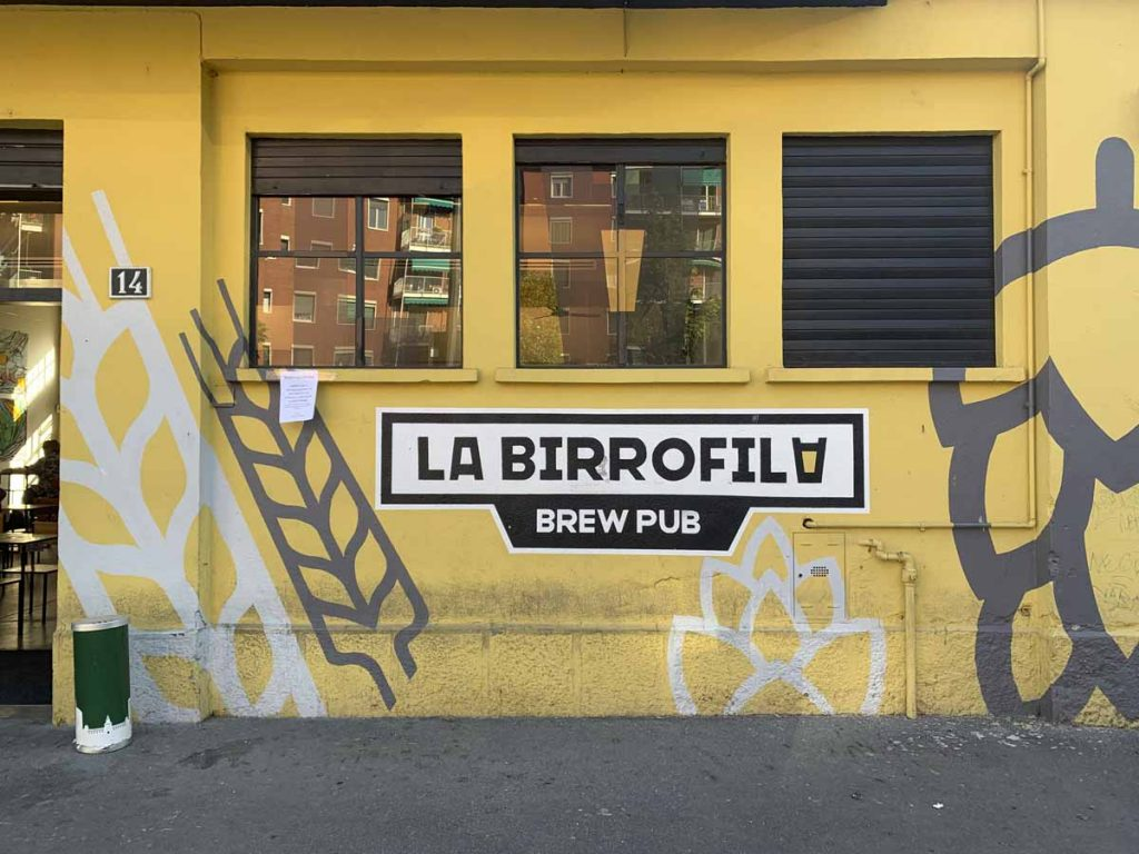 la birrofila milan craft beer